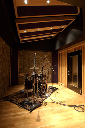 Lp swist recording studio designer and acoustical consultant for Recording studio live room design