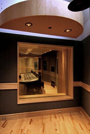 Swist Designs SUNY Fredonis Mason Hall Recording Studio